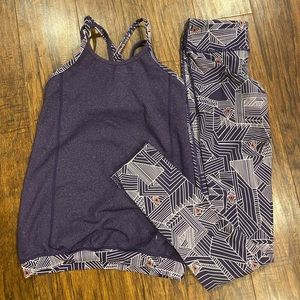 Ivivva pants/top matching set